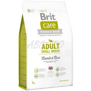 Brit Care Adult small Breed Lamb & Rice 3 kg