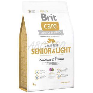 Brit Care Grain Free Senior Light Salmon & Potato 3kg