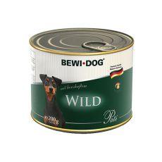 Pašteta BEWI DOG – divjačina, 200 g
