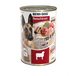 Novo BEWI DOG konzerva – jagnjetina, 400 g