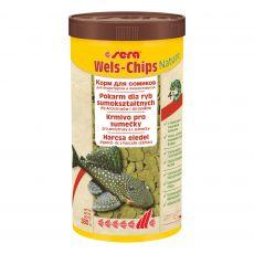 Hrana za some sera Wels-Chips 1000 ml Nature