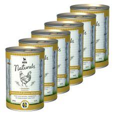 Bozita Naturals Chicken - konzerva, 6 x 410 g