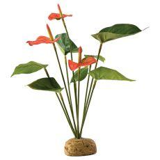 Exo Terra rastlina za terarij - flamingovec, 30 cm