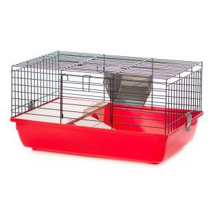 Kletka za zajca ali morskega prašička - SUPER RABBIT 60 COLOR