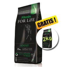 Fitmin FOR LIFE Adult All Breeds 15 + 2 kg BREZPLAČNO