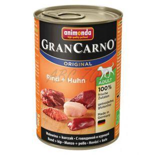 Konzerva GranCarno Original Adult z govedino in piščancem - 400 g