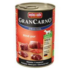 Konzerva GranCarno Original Adult z govedino - 400 g