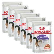 Royal Canin STERILISED 6 x 85 g - vrečica