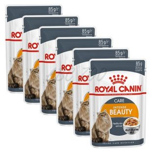 Royal Canin Intense BEAUTY in Jelly 6 x 85g - žele v vrečici