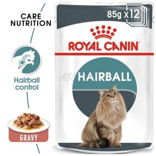 Vrečka z mačjo hrano Royal Canin HAIRBALL CARE - 85 g