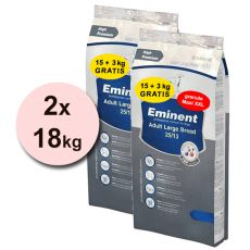EMINENT Adult Large Breed XXL - 2 x 18 kg