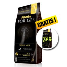 Fitmin FOR LIFE Adult Mini 15 + 2 kg - BREZPLAČNA DOSTAVA