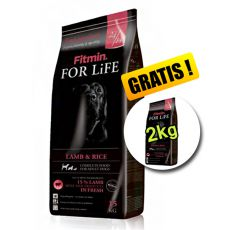 Fitmin FOR LIFE Adult Lamb & Rice 15 + 2 kg - BREZPLAČNA DOSTAVA