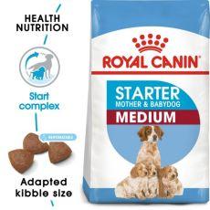 ROYAL CANIN MEDIUM STARTER Mother & Babydog - 4 kg