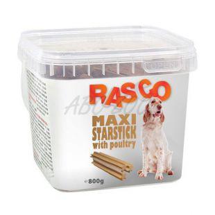 RASCO pasji priboljški – maxi perutninske zvezdaste palčke, 800 g