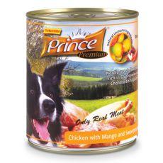 Konzerva PRINCE Premium – piščanec z mangom in sladkim krompirjem 800 g