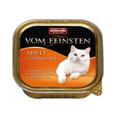 Animonda Vom Feinsten Adult Cats - perutnina in teletina 100 g