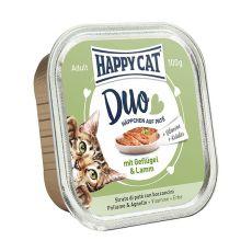 Happy Cat DUO MENU - perutnina in jagnjetina, 100 g