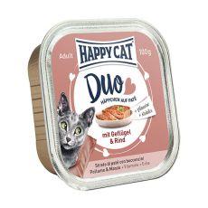 Happy Cat DUO MENU - perutnina in govedina, 100 g