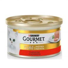 Pločevinka Gourmet GOLD - pašteta z govedino, 85 g