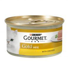 Pločevinka Gourmet GOLD - pašteta s piščancem, 85 g
