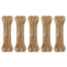 Kost iz goveje kože Rasco 10 cm / 5 kosov