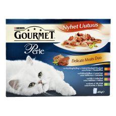 Vrečke s hrano GOURMET PERLE – okusna mešanica, 4 x 85 g