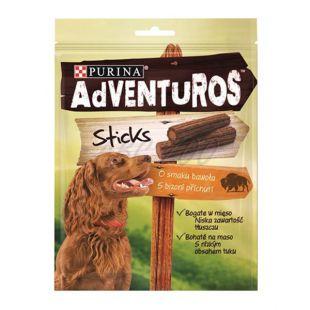 Purina ADVENTUROS Sticks - bizon 4 kosi, 120 g