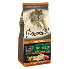Primordial GF ADULT - piščanec in losos, 2 kg