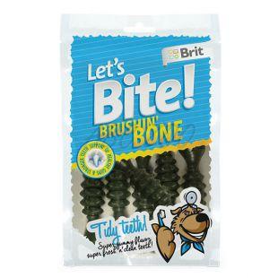 Priboljški BRIT Lets Bite - Brushin´ Bone, 90 g