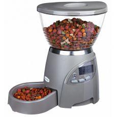 Avtomatski podajalnik hrane Le Bistro - 35 x 37 x 25 cm, siv
