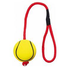 Penasta žoga na vrvi - 6 cm