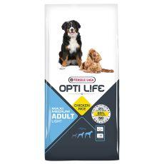 Versele Laga Opti Life Adult Light Medium & Maxi 12,5 kg