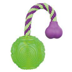 Pasja igrača - žoga na vrvi 7 x 25 cm