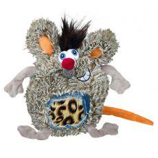 Pasja igrača - plišasta podgana, 17 cm