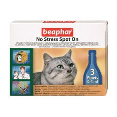 Beaphar protistresne pipete za mačke - 3 kosi
