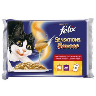 Felix Sensations Sauces - puran in jagnjetina v omaki, 400 g