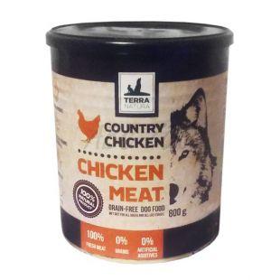 Konzerva Terra Natura Country Chicken Meat 800 g