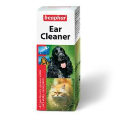 Ušesne kapljice Beaphar Ear Cleaner za pse in mačke - 50 ml