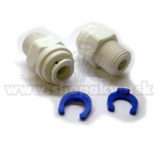 "Konektor 1/4"" – ravni adapter za reverzno osmozo – 2 kosa"