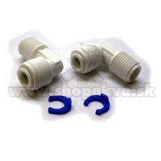 """Konektor 1/4"""" – kotni adapter za reverzno osmozo – 2 kosa"""