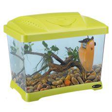 Plastičen akvarij CAPRI JUNIOR GREEN 21l
