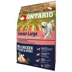 ONTARIO Senior Large - chicken & potatoes 2,25 kg