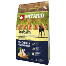 ONTARIO Adult Mini - chicken and potatoes, 6,5 kg