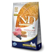 Farmina N&D dog LG ADULT MINI Lamb & Blueberry 7kg