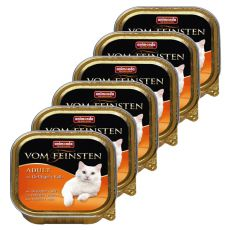 Animonda Vom Feinsten Adult Cats - perutnina in teletina 6 x 100g.