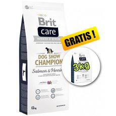 Brit Care Dog Show CHAMPION 12kg + 3kg GRATIS