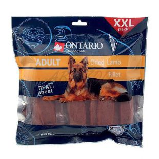 Ontario Snack Dry Lamb Fillet XXL, 500 g