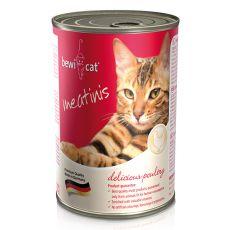 Konzerva BEWI CAT Meatinis PERUTNINA, 400 g