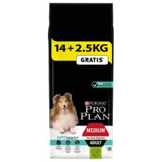 Purina PRO PLAN ADULT Medium Sensitive Digestion LAMB 14 + 2,5kg